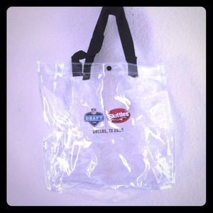 Nfl clear tote